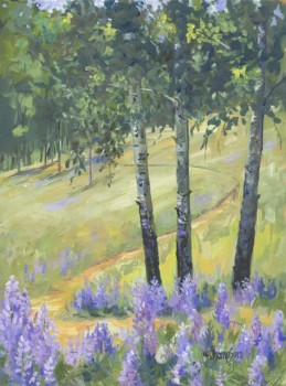 Lupine Trail, Jan Thompson