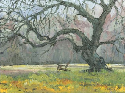 Mesquite Seat, Jan Thompson