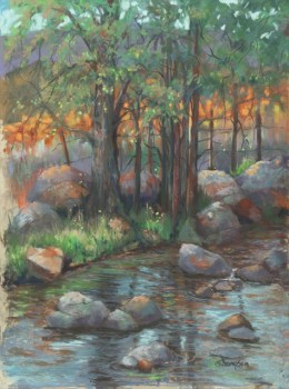 Shallow Creek Spring, Jan Thompson