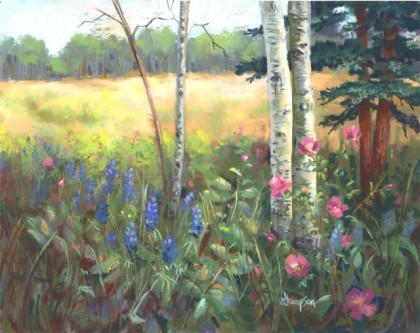 Down in the Meadow, Jan Thompson