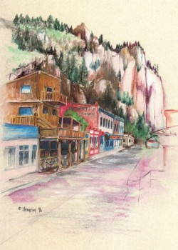 Main Street Creede, Jan Thompson