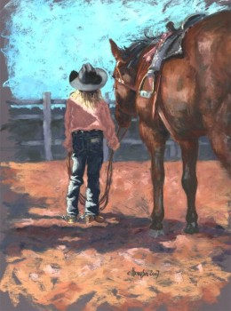 Rodeo Queen, Jan Thompson