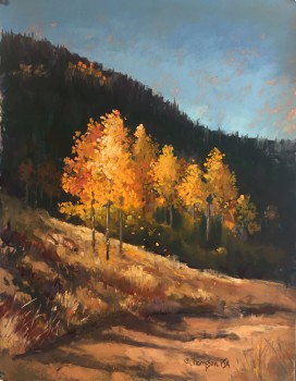 Willow Creek Autumn14x11Pastel 795